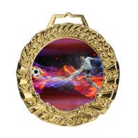 Stiklinis medalis AUKSAS MGM9060G